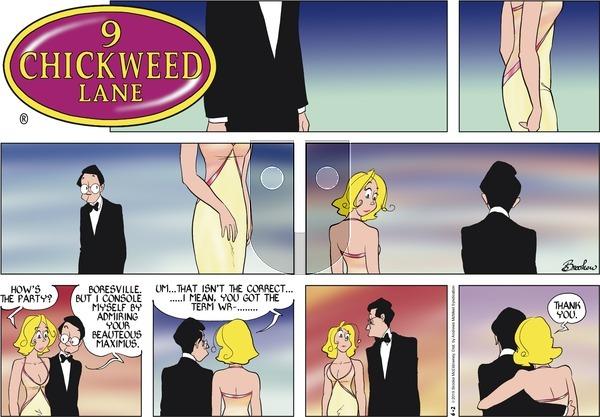 9 Chickweed Lane on Sunday June 2, 2019 Comic Strip