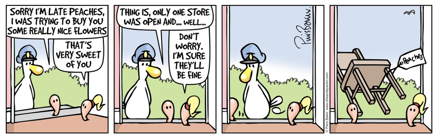 Ollie and Quentin Comic Strip for December 05, 2019