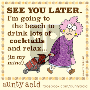 Aunty Acid on Saturday November 16, 2019 Comic Strip