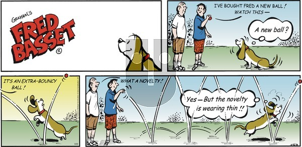 Fred Basset on Sunday August 22, 2021 Comic Strip
