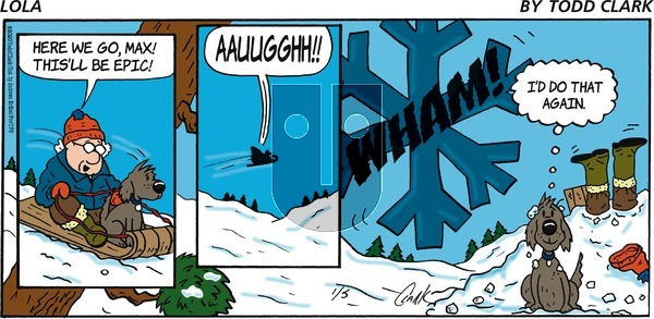 Lola on Sunday January 5, 2020 Comic Strip