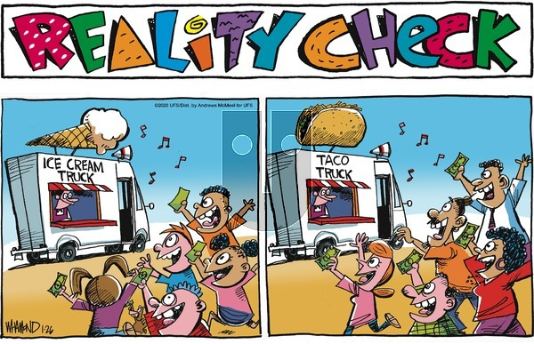 Reality Check on Sunday January 26, 2020 Comic Strip