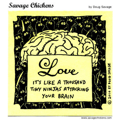 Savage Chickens for Apr 29, 2014 Comic Strip