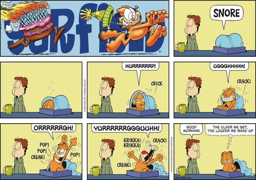 Garfield Comic Strip for June 21, 2020