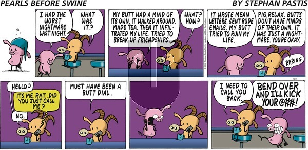 Pearls Before Swine on Sunday December 2, 2018 Comic Strip