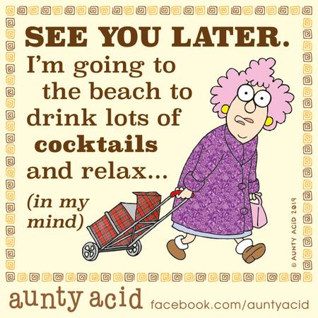 Aunty Acid Comic Strip for November 16, 2019
