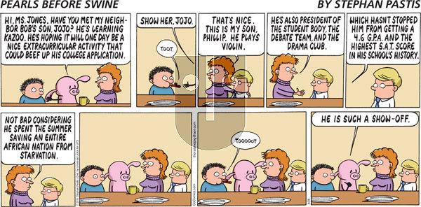 Pearls Before Swine - Sunday August 28, 2011 Comic Strip