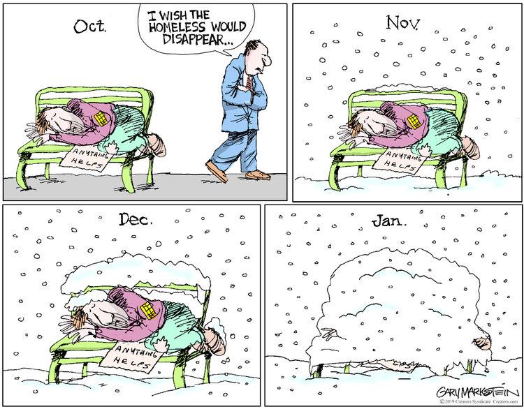 Gary Markstein Comic Strip for October 01, 2019