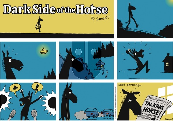 Dark Side of the Horse on Sunday July 12, 2020 Comic Strip