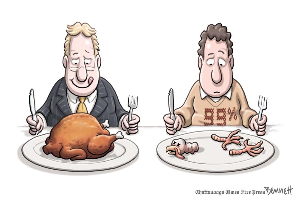 Clay Bennett Comic Strip for November 23, 2011