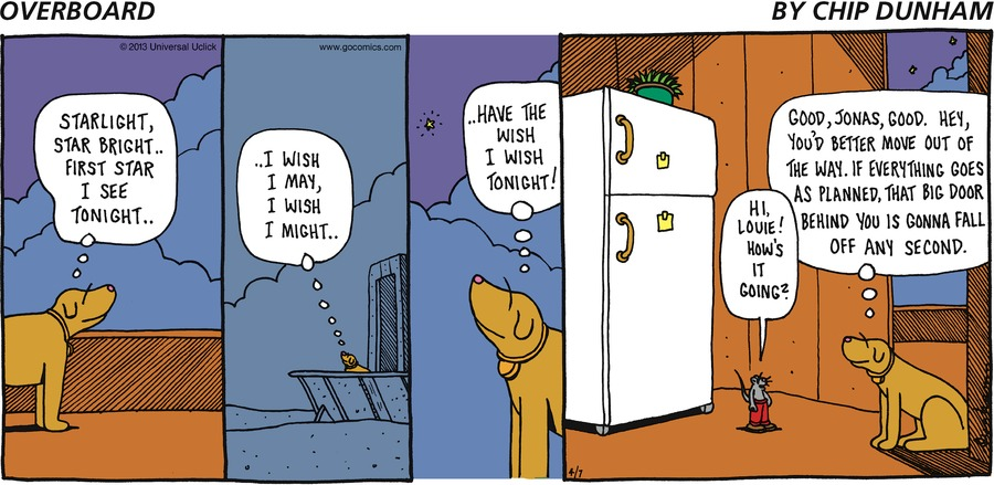 Overboard for Apr 7, 2013 Comic Strip