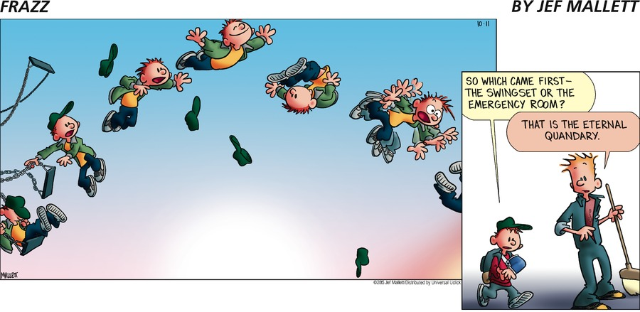 Frazz for Oct 11, 2015 Comic Strip