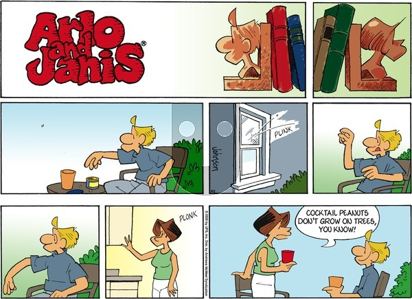Arlo and Janis on Sunday August 2, 2020 Comic Strip