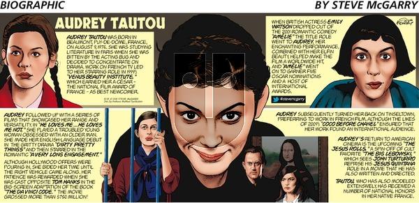 Biographic - Sunday December 8, 2019 Comic Strip