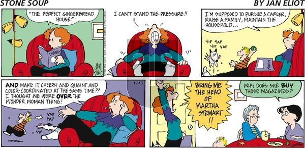 Stone Soup - Sunday December 13, 2020 Comic Strip