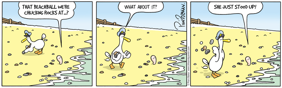 Ollie and Quentin Comic Strip for June 03, 2020