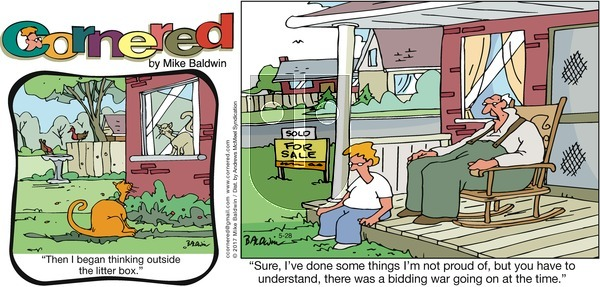 Cornered on Sunday May 28, 2017 Comic Strip