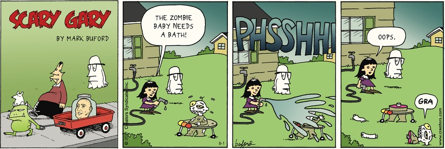 Scary Gary Comic Strip for August 01, 2021