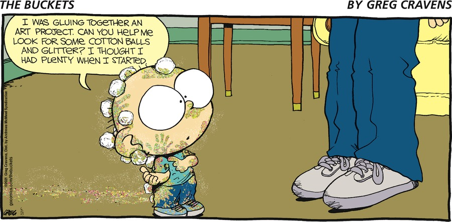 The Buckets Comic Strip for June 13, 2021