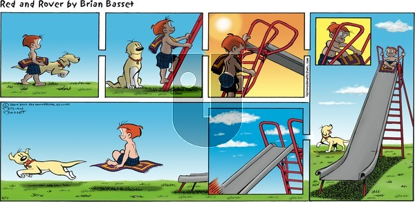 Red and Rover on Sunday August 17, 2014 Comic Strip
