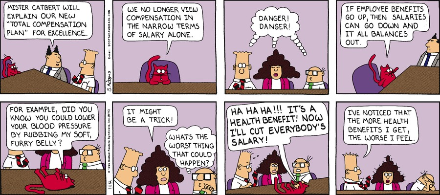 Dilbert Classics Comic Strip for October 13, 2019
