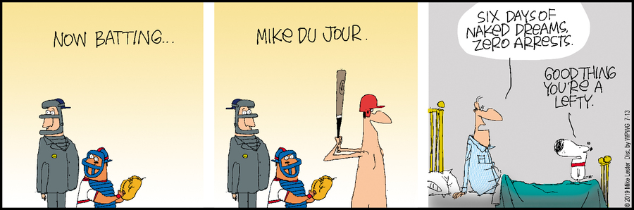 Mike du Jour Comic Strip for July 13, 2019