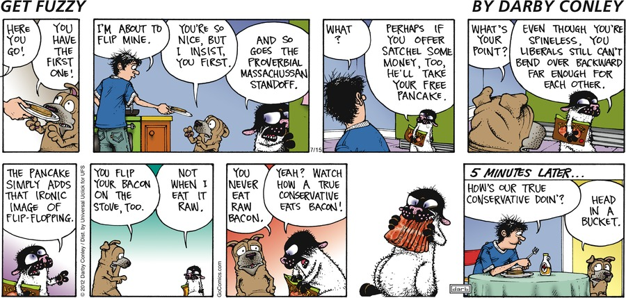 Get Fuzzy Comic Strip for July 15, 2012