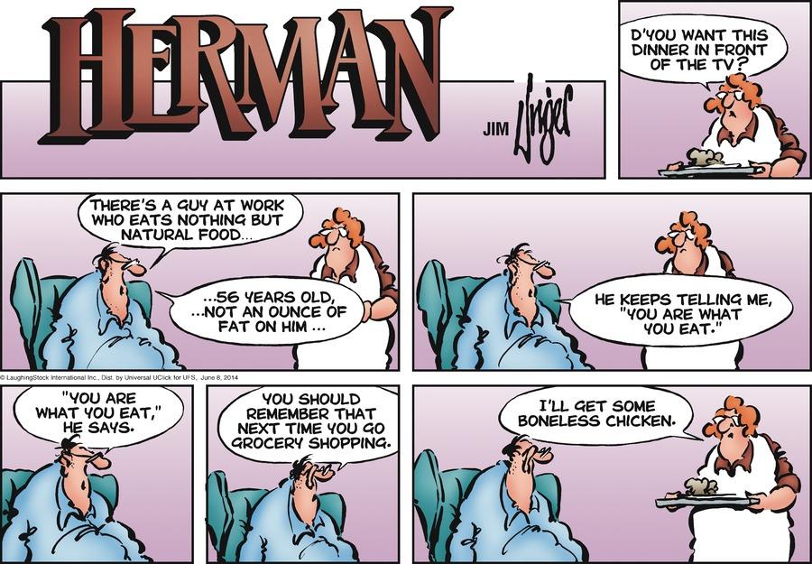 Herman for Jun 8, 2014 Comic Strip