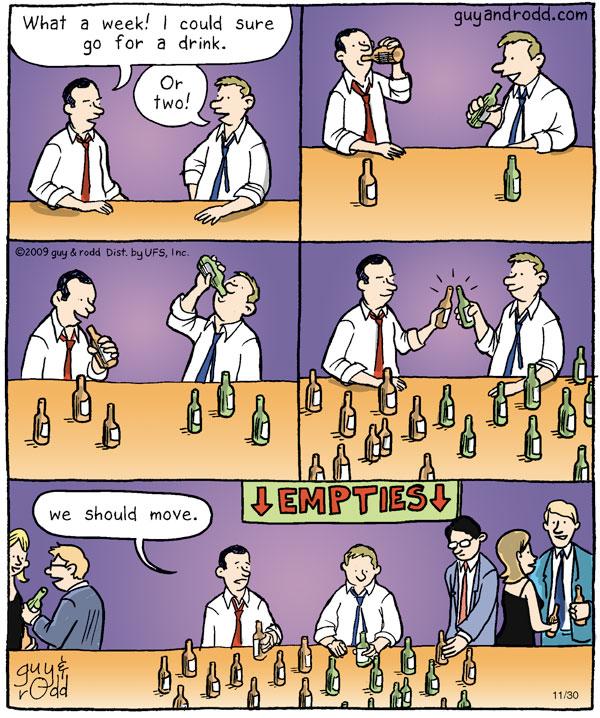 Brevity Comic Strip for November 30, 2009