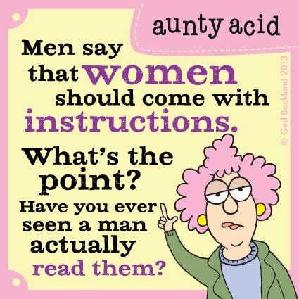 Aunty Acid for Sep 29, 2013 Comic Strip