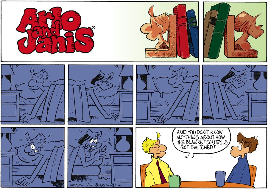 Arlo and Janis Comic Strip for November 20, 2005