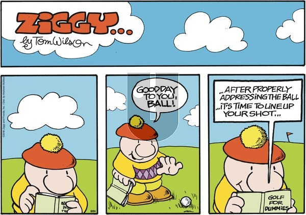 Ziggy on Sunday June 24, 2018 Comic Strip