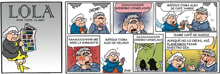 Lola en Español for Oct 4, 2017 Comic Strip