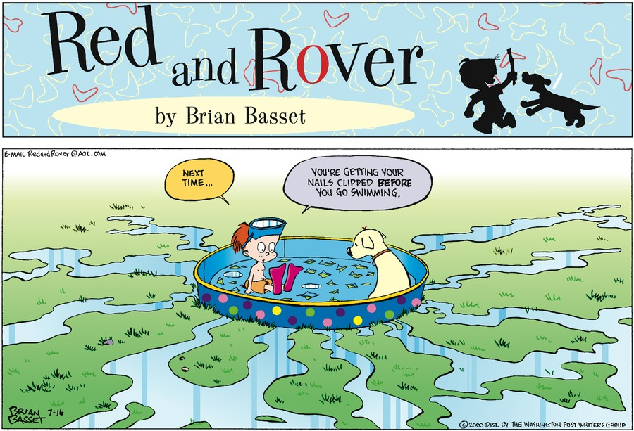 Red and Rover for Jul 16, 2000 Comic Strip