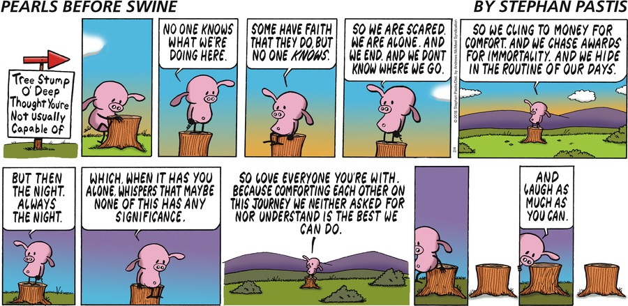 Pearls Before Swine Comic Strip for February 04, 2018