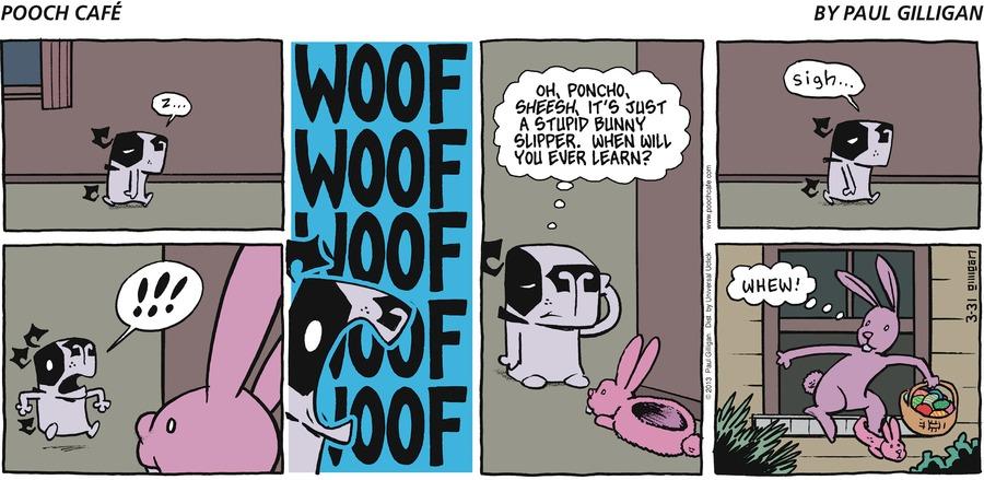 Pooch Cafe for Mar 31, 2013 Comic Strip