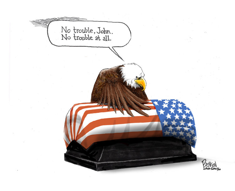 Steve Benson Comic Strip for July 30, 2020
