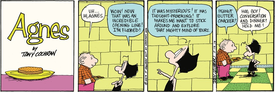 Agnes by Tony Cochran for May 19, 2019