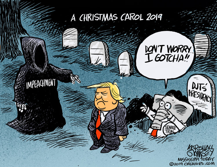 Marshall Ramsey Comic Strip for December 05, 2019