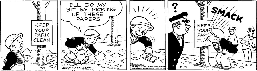 Nancy Classics Comic Strip for May 24, 2015