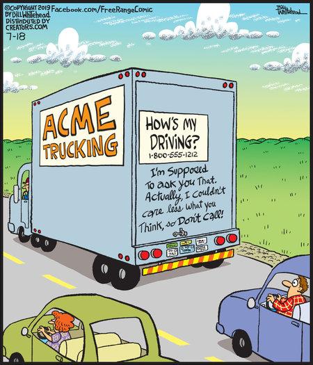 Free Range Comic Strip for July 18, 2019