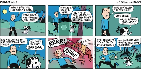 Pooch Cafe - Sunday August 4, 2019 Comic Strip
