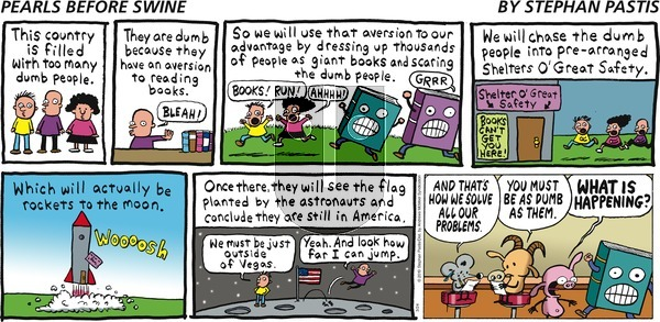Pearls Before Swine on Sunday March 24, 2019 Comic Strip