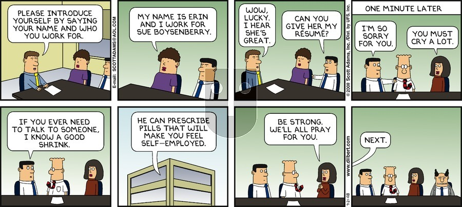 Purchase Comic Strip for 2008-09-21