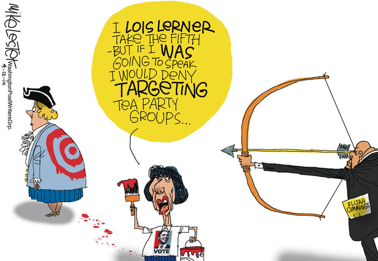 Mike Lester for Apr 12, 2014 Comic Strip