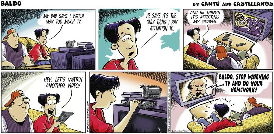 Baldo for May 21, 2000 Comic Strip