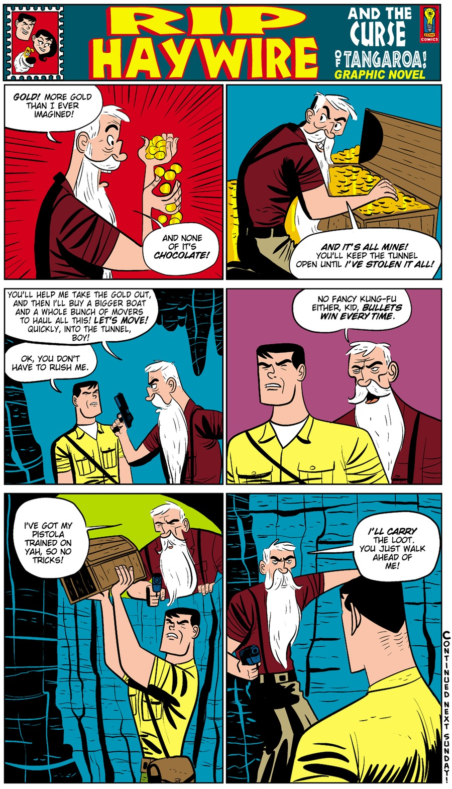 Rip Haywire Comic Strip for February 22, 2015