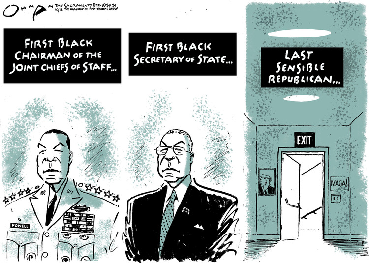 Jack Ohman by Jack Ohman on Tue, 19 Oct 2021