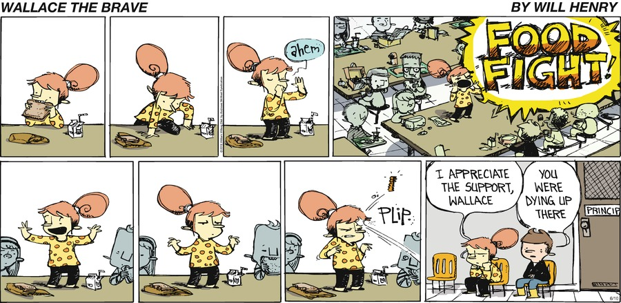 Wallace the Brave Comic Strip for June 10, 2018