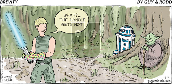 Brevity on Sunday August 6, 2006 Comic Strip